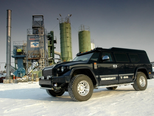 motori,auto,kombat,kombat t98,suv,fuoristrada,auto russa,auto indistruttibile,hummer russo,velocita,prestazioni,