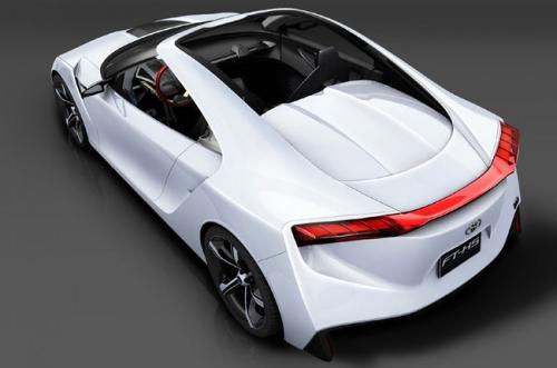 motori,auto,toyota,ft-hs,toyota ft-hs,concept car,velocita,prestazioni,auto ibrida,