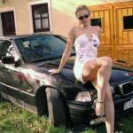 bionda e BMW